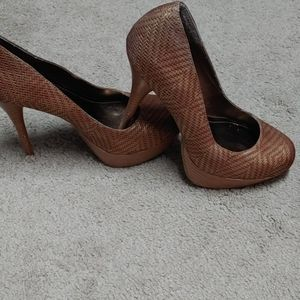 Bronze Just Fab Shoes size 8.5